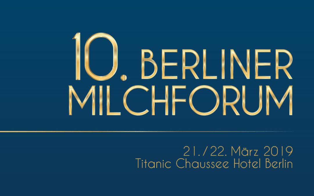 10. Berliner Milchforum 2019