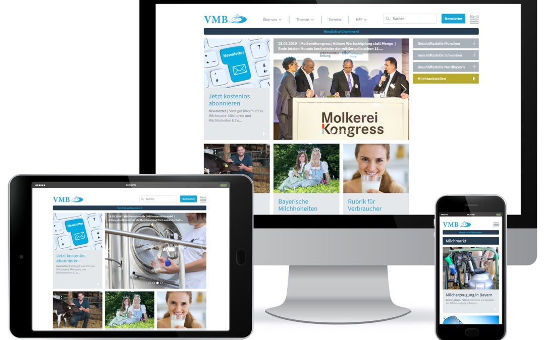 VMB mit neuem Online-Auftritt