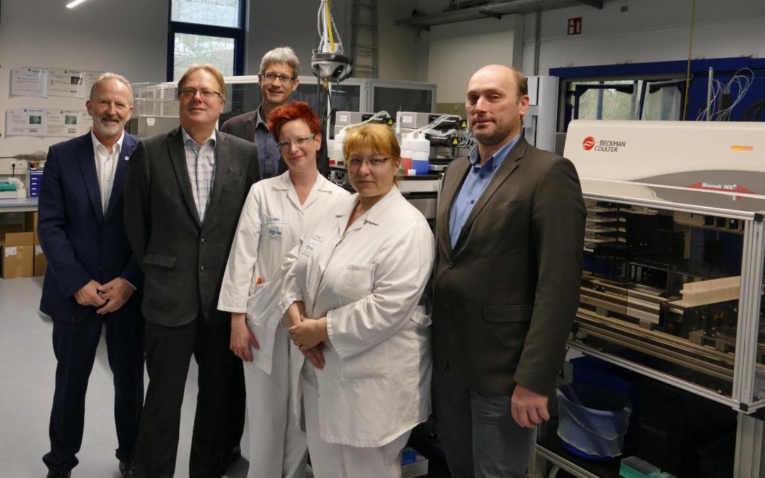 Trächtigkeit: 1 Mio. PAG-Tests aus Milch in Wolnzach untersucht