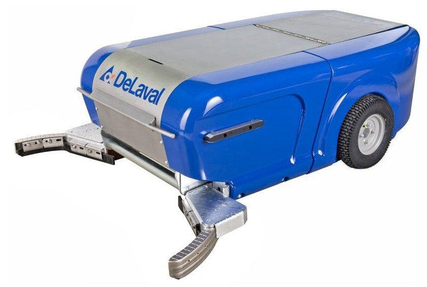 DeLaval stellt neue Entmistungsroboter-Serie für planbefestigte Böden vor
