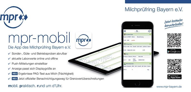 Jederzeit informiert –  die mpr-App macht's möglich