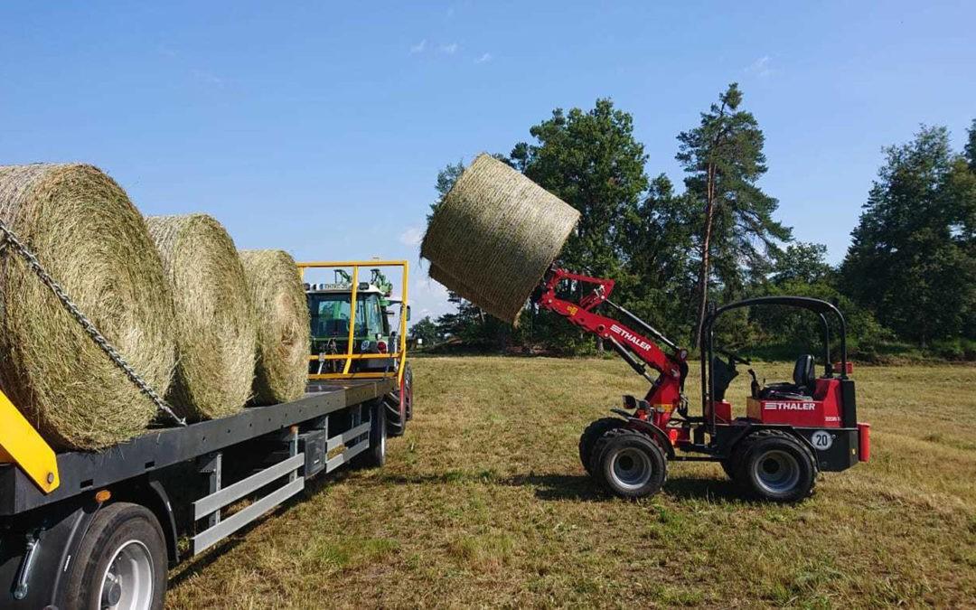 Hoflader, Radlader und Teleskoplader – Helfer für Hof und Stall